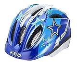 KED Meggy Helmet Kids Blue Stars Kopfumfang S/M | 49-55cm 2019 Fahrradhelm