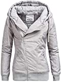 Sublevel D5174X44308D Winterjacke Kapuzenjacke 44308 8 Farben XS-XL Middle Grey M