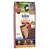 bosch HPC Adult mit Lamm & Reis   Hundetrockenfutter für ausgewachsene Hunde aller Rassen, 1 x 15 kg