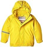 CareTec Kinder wasserdichte Regenjacke (verschiedene Farben), Gelb (Yellow 324), 86