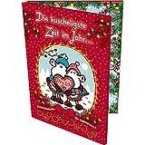 Sheepworld 49805 Partner-Adventslalender, für Paare, aufklappbarer Kalender, mit Schokolade, Mehrfarbig, 1er Pack (1 x 150)