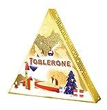 Toblerone Adventskalender (4 Schokoladen Varianten / 200 Gramm) Schweizer Spezialität