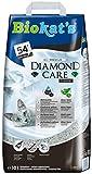Biokat's Diamond Care Classic Katzenstreu, Hochwertige Klumpstreu für Katzen mit Aktivkohle und Aloe Vera, 1 Papierbeutel (1 x 10 L)