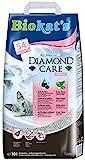 Biokat's Diamond Care Fresh Katzenstreu mit Duft, Hochwertige Klumpstreu für Katzen mit Aktivkohle und Aloe Vera, 1 Papierbeutel (1 x 10 L)