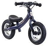 BIKESTAR Kinder Laufrad Lauflernrad Kinderrad für Jungen und Mädchen ab 2-3 Jahre   10 Zoll Sport Kinderlaufrad   Schwarz