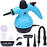 MLMLANT dampfreiniger Mehrzweck- Wassertank mit 9 Zubehörteilen Handdampfreiniger für Fleckenentfernung, Teppiche, Vorhänge, Bettwanzen-Steuerung, Autositze (350ML)
