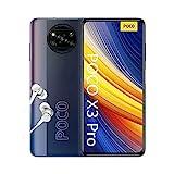 POCO X3 PRO Smartphone (16,94cm (6,67') FHD+ LCD DotDisplay 120Hz, 8GB+256GB Speicher, 48MP Quad-Rückkamera, 20MP Frontkamera, Dual-SIM, Android 11) Schwarz - [Exklusiv bei Amazon]