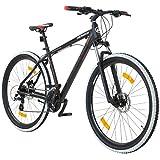 Galano 29 Zoll MTB Infinity Mountainbike Scheibenbremsen Shimano (schwarz/rot)