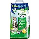 Biokat's Classic fresh 3in1 mit Frühlings-Duft - Klumpende Katzenstreu mit 3 unterschiedlichen Korngrößen - 1 Sack (1 x 10 L)