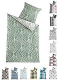 BaSaTex Renforcé Bettwäsche Set | 100% Baumwolle | 135x200 cm + 80x80 cm | Reißverschluss | Legolas
