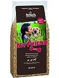 bosch My Friend Soft   Hundefutter für ausgewachsene Hunde aller Rassen   Vollwertkost mit softer Krokette   15 kg