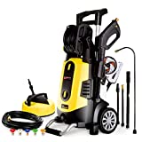 Wilks-USA RX545 Hochdruckreiniger für Auto, Haushalt, Garten, Leistungsstark - 210 Bar