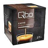 Tchibo Qbo Vorratsbox Caffè Estrada Paraíso Kaffeekapseln, 216 Stück – 8x27 Kapseln (Kaffee, zart und karamellig) nachhaltig & aluminiumfrei