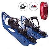 Inook Schneeschuhe Allround AXM mit Steighilfe und Ratschenbindung, Schuhgre EU 36-47 (UVP: 179,95)
