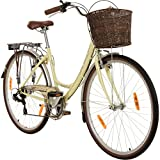 Galano 28 Zoll Piccadilly 7 Gang Citybike Stadt Fahrrad, Rahmengrösse:48 cm