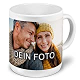 PhotoFancy - XXL Tasse mit Foto Bedrucken Lassen - Jumbo-Becher Personalisieren - Riesentasse selbst gestalten (XXL [750 ml], weiß)
