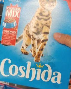 Coshiba Katzen-Trockenfutter lidl