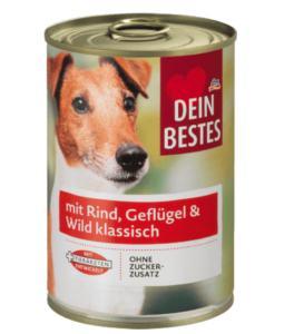 DM Hundefutter Dein Bestes