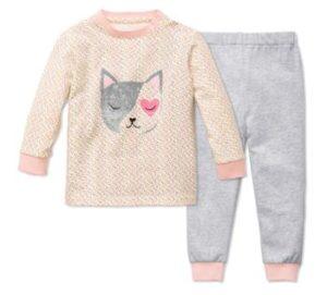 Tchibo kinder schlafanzug pyjama test