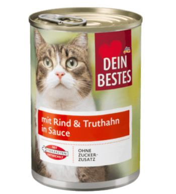 dein Bestes DM Katzenfutter