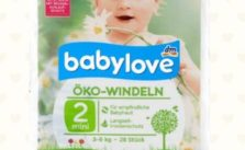 Babylove Windeln von DM Test