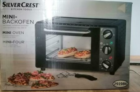 silvercrest mini-backofen test