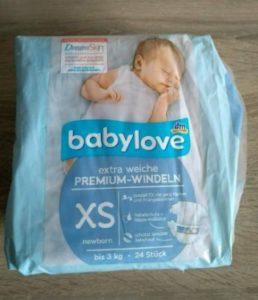Babylove Windeln von DM kaufen